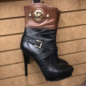 Michael Kors high heel booties